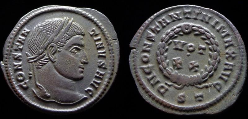 Quelques monnaies d'une collection constantinienne. Bsg2210
