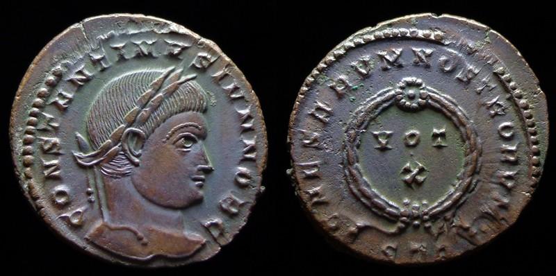 Quelques monnaies d'une collection constantinienne. Bsg2710