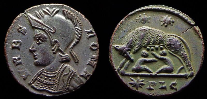 Quelques monnaies d'une collection constantinienne. Bsg2810