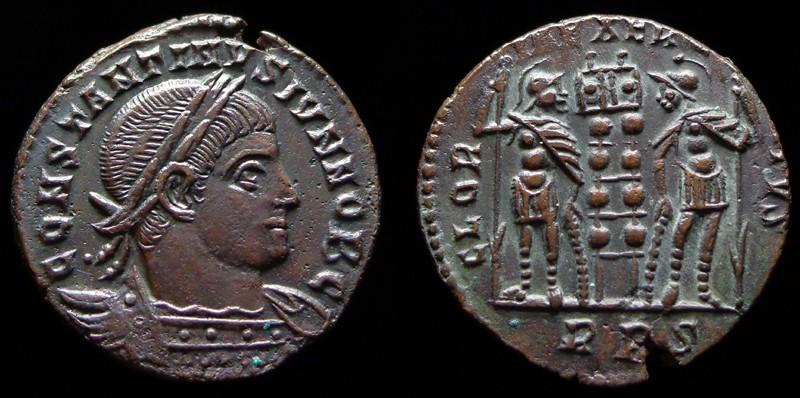 Quelques monnaies d'une collection constantinienne. Bsg2910