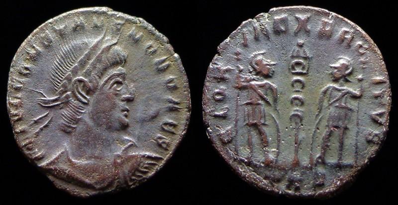 Quelques monnaies d'une collection constantinienne. Bsg3010