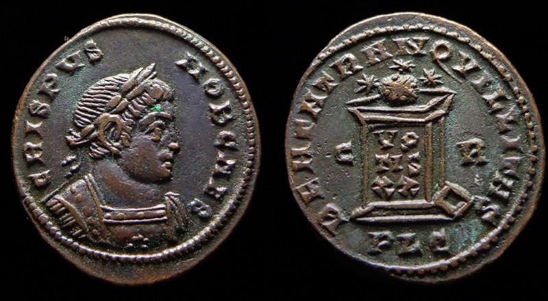 Quelques monnaies d'une collection constantinienne. Bsg310