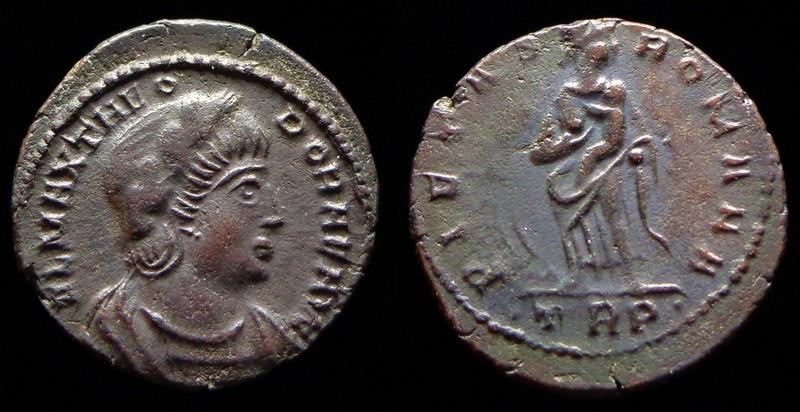 Quelques monnaies d'une collection constantinienne. Bsg510