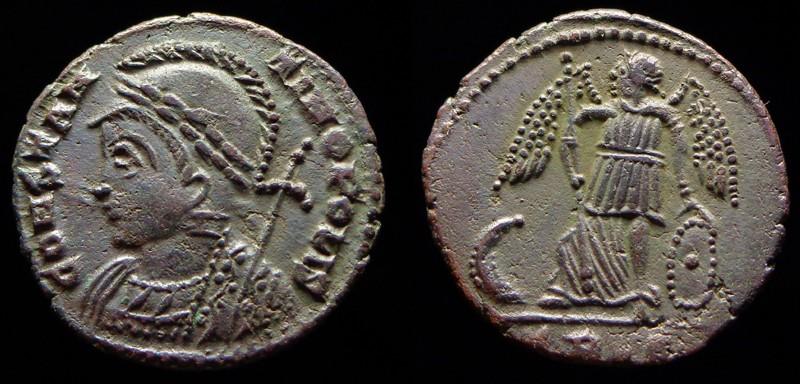 Quelques monnaies d'une collection constantinienne. Bsg610