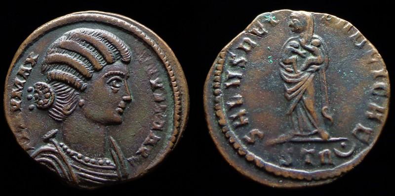 Quelques monnaies d'une collection constantinienne. Bsg710