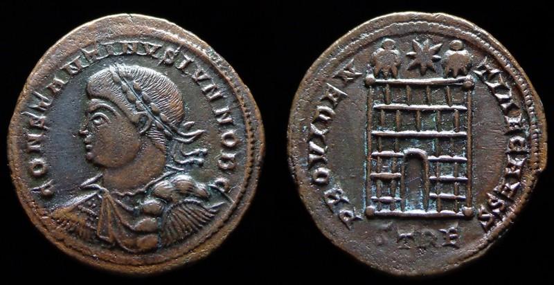 Quelques monnaies d'une collection constantinienne. Bsg810