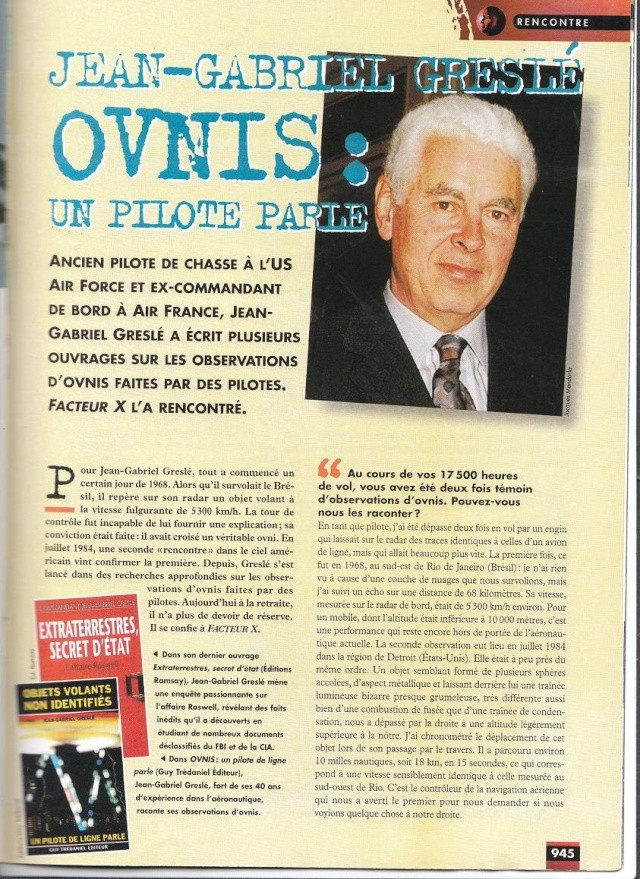 FACTEUR X n°34 - Interview de Jean Gabriel.Greslè (1998) 121