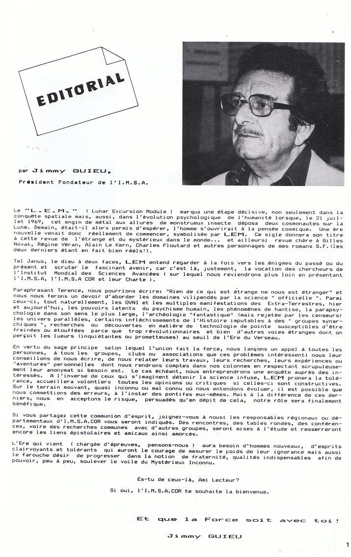 Revue LEM - Mars 1983 - Numero 1 122