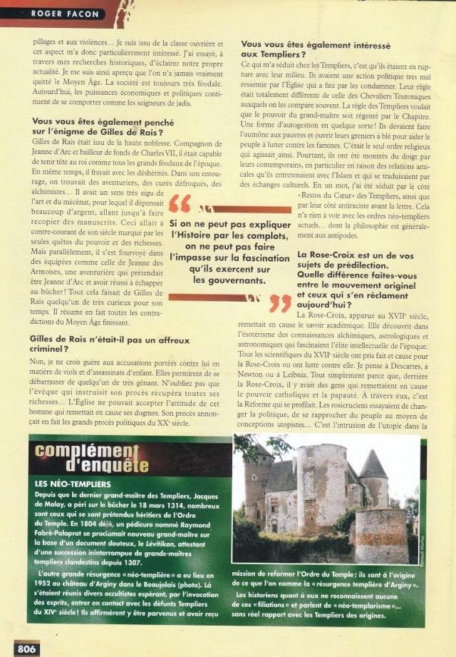 FACTEUR X n°29 - Interview de Roger Facon (1998) 215