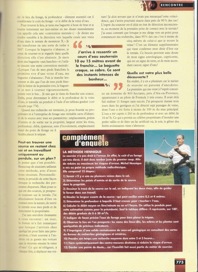 FACTEUR X n°28 - Interview de Michel Hennique (1998) 216
