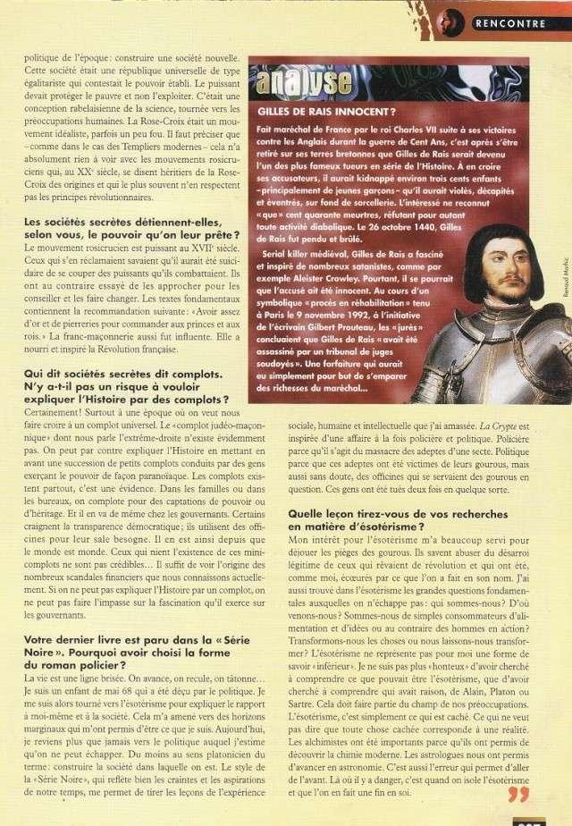 FACTEUR X n°29 - Interview de Roger Facon (1998) 313