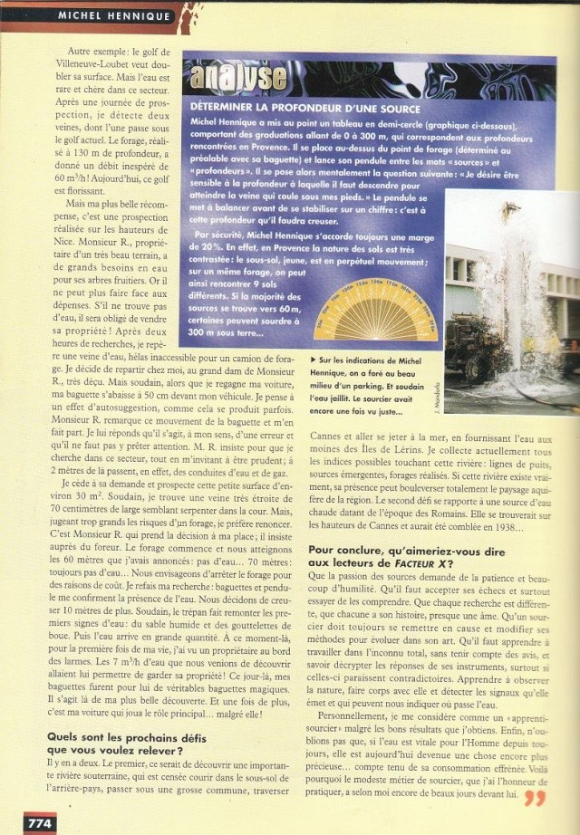 FACTEUR X n°28 - Interview de Michel Hennique (1998) 314