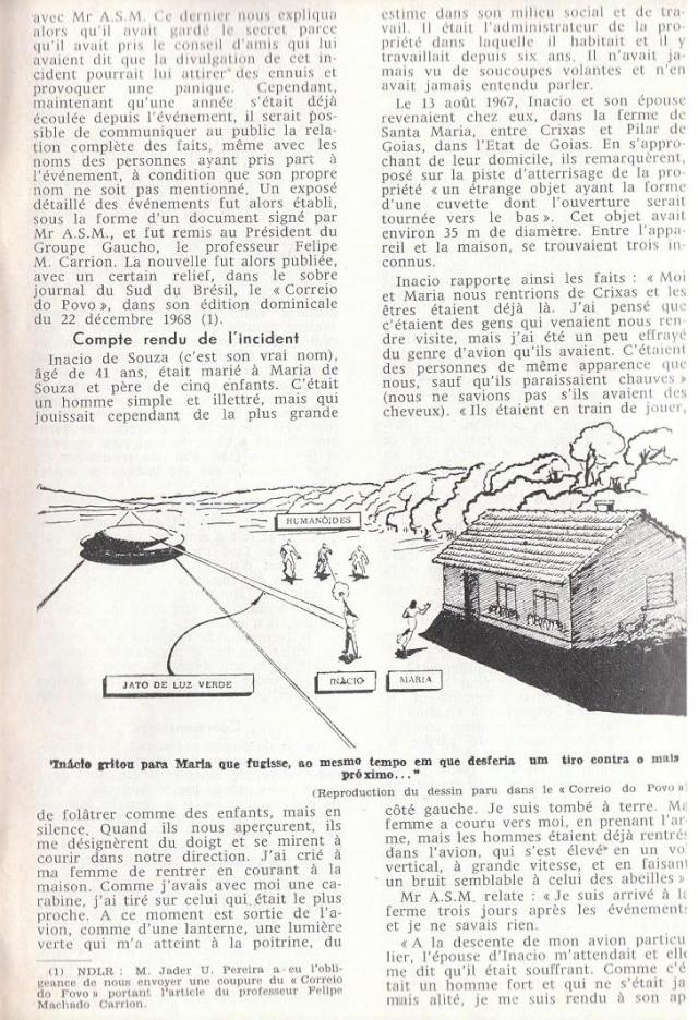 Cas de mort direct par Humanoïdes [GEPA - Mars 1969] 610