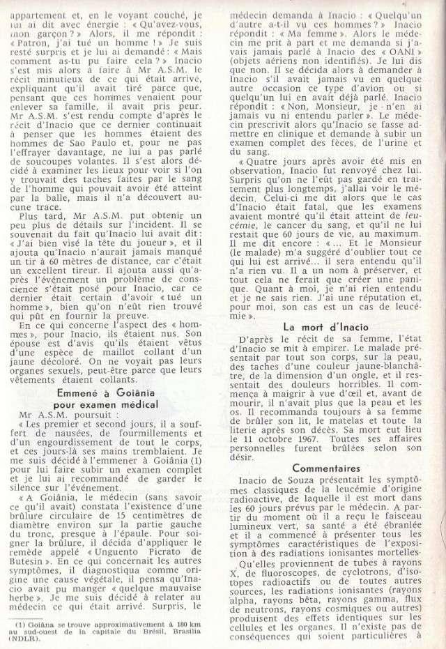 Cas de mort direct par Humanoïdes [GEPA - Mars 1969] 710