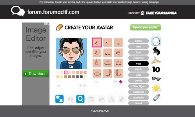 Création de votre avatar perso ! Firesh10