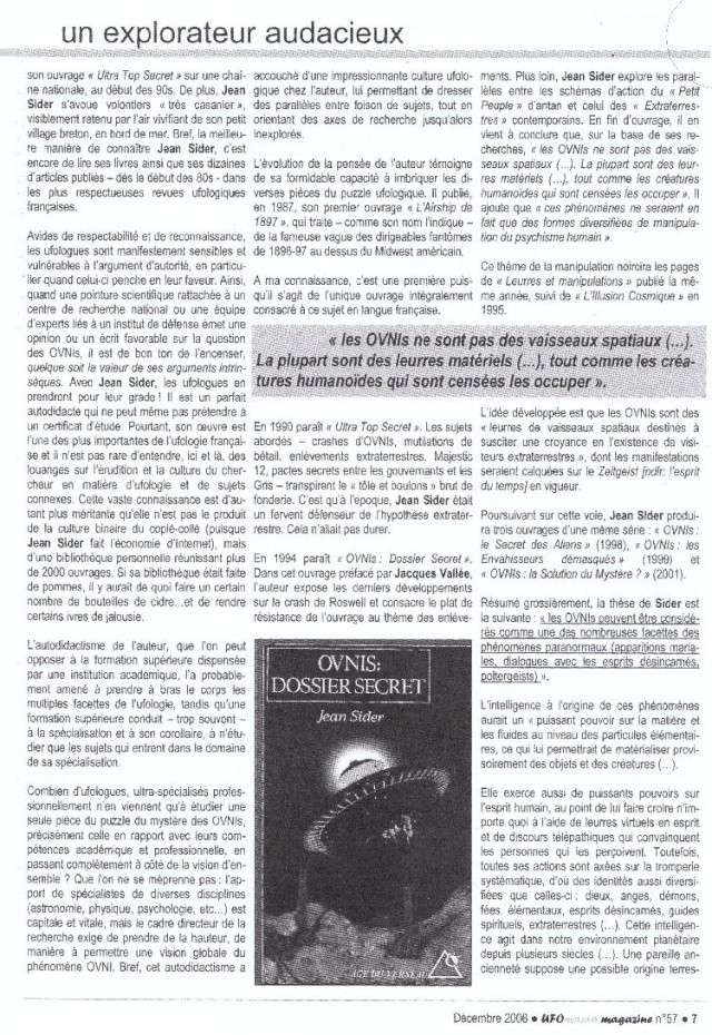 Hommage à Jean Sider - Ufomania N°57 Sans_t12