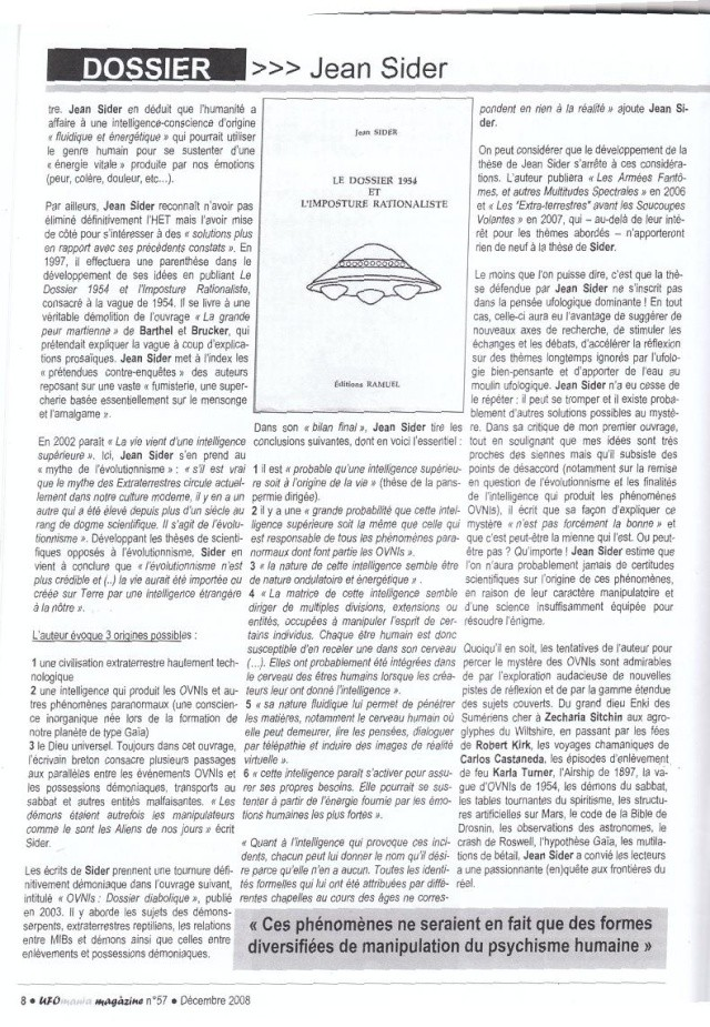 Hommage à Jean Sider - Ufomania N°57 Sans_t13
