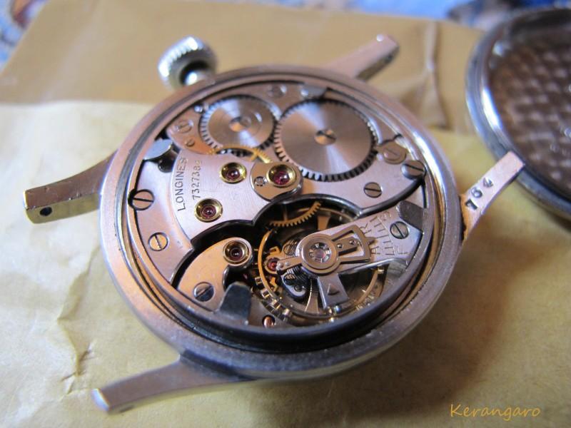 Une petite Longines MN... Et interrogation sur le bracelet d'origine. Longin11