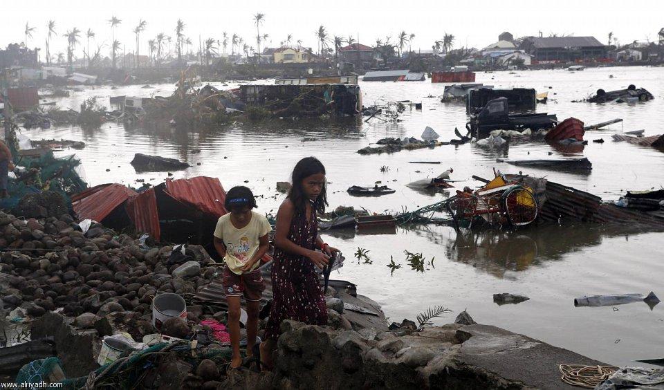 أضرار إعصار هايان 1019