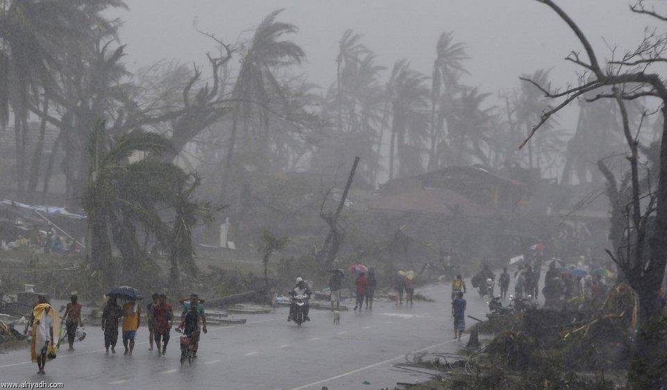 أضرار إعصار هايان 1212