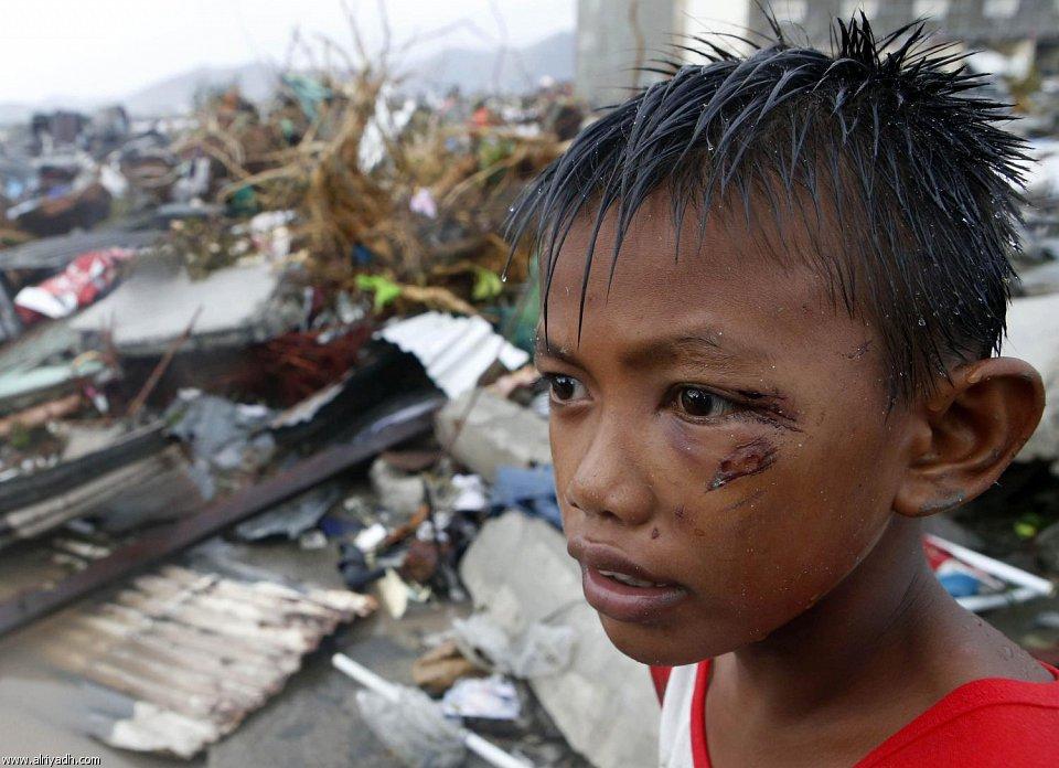 أضرار إعصار هايان 129