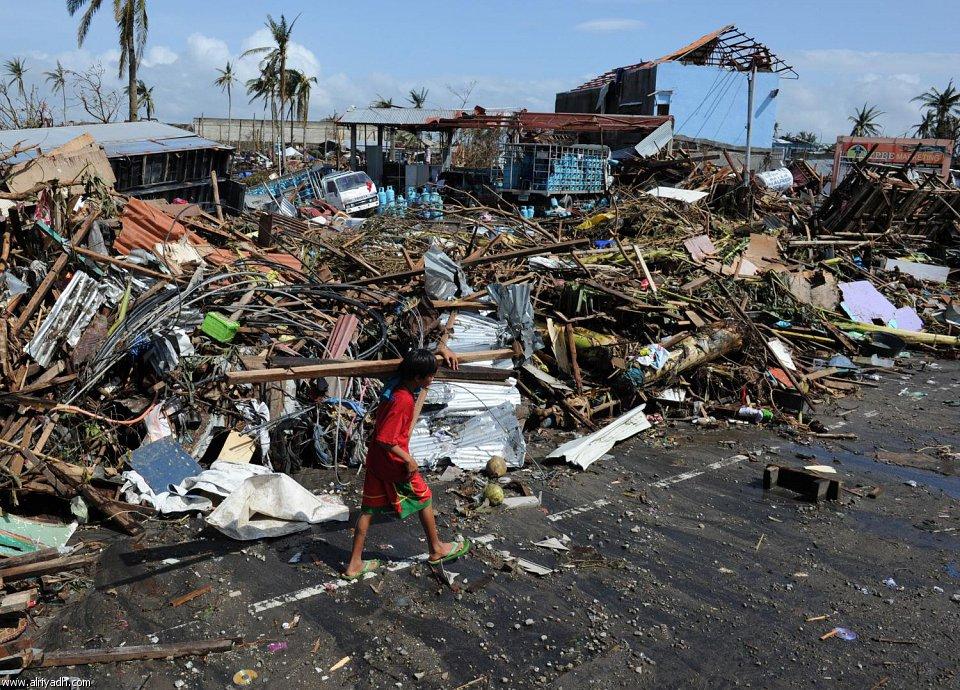 أضرار إعصار هايان 1612