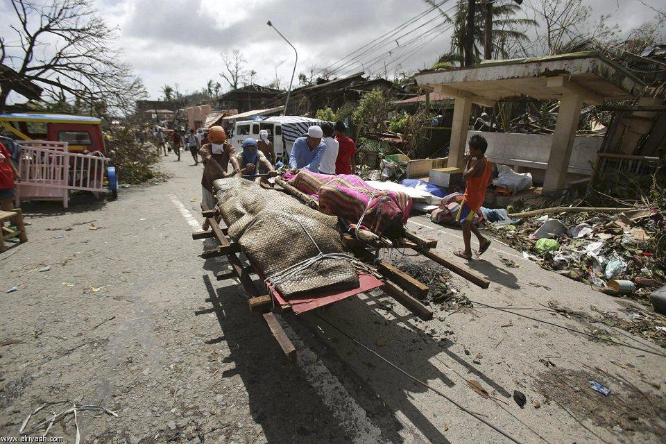 أضرار إعصار هايان 1713