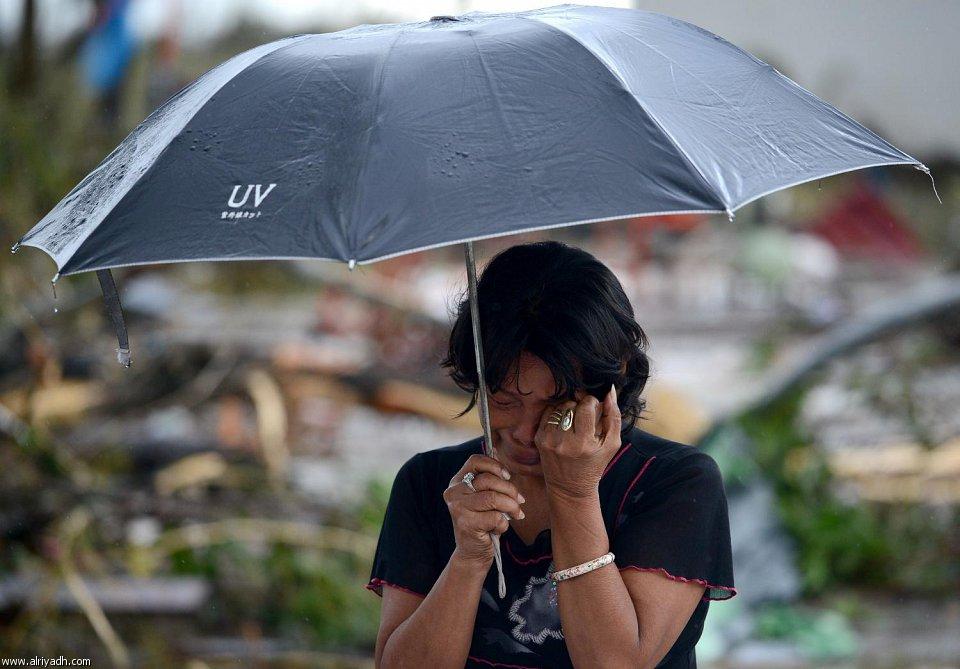 أضرار إعصار هايان 1813