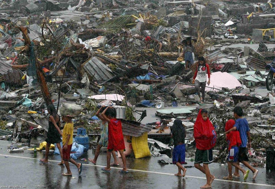 أضرار إعصار هايان 1912