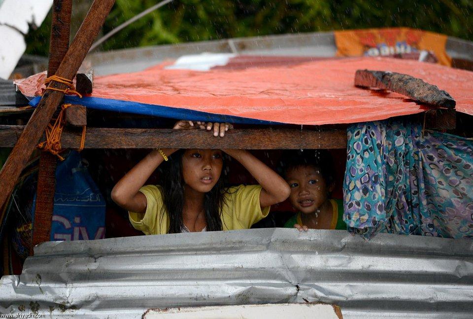 أضرار إعصار هايان 2112