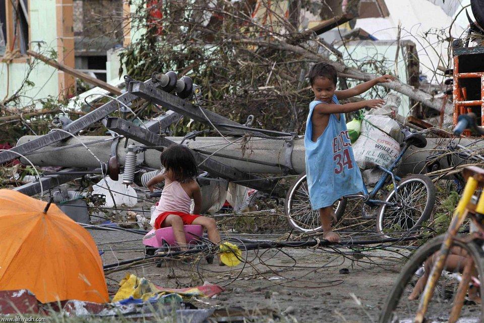 أضرار إعصار هايان 2212