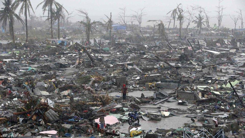 أضرار إعصار هايان 231