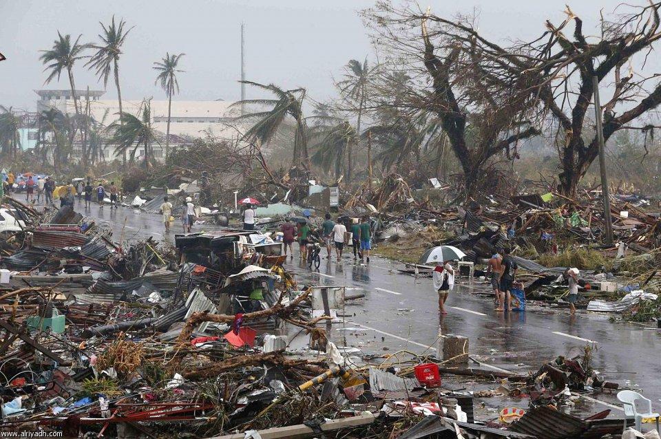 أضرار إعصار هايان 323