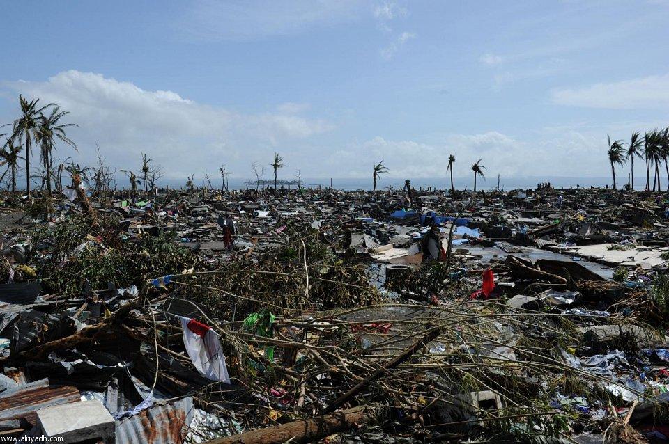 أضرار إعصار هايان 424