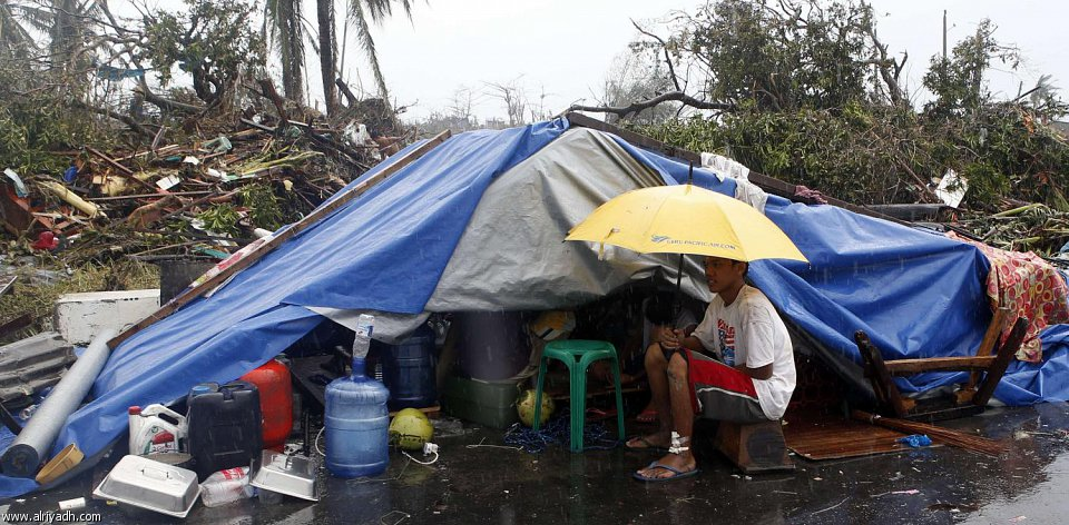 أضرار إعصار هايان 522