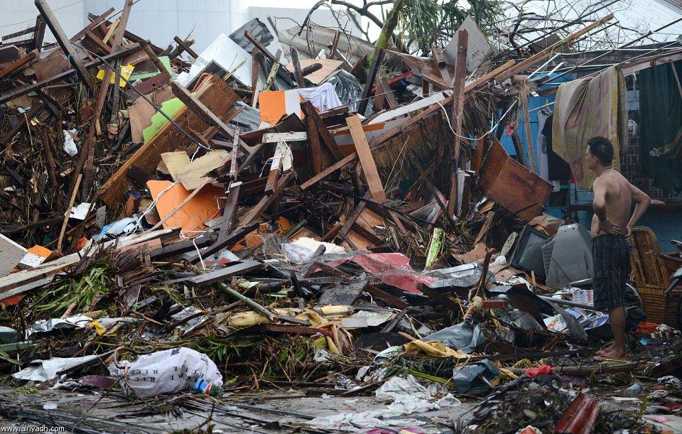 أضرار إعصار هايان 822
