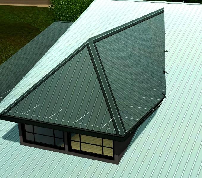 Fenêtres de toit /  chien assis Screen16
