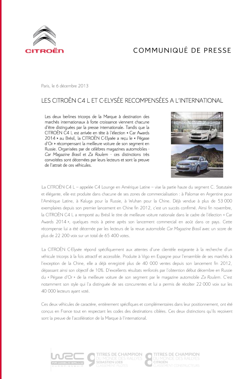 [SUJET OFFICIEL][MERCOSUR] Citroën C4 Lounge - Page 2 Cp_rec10