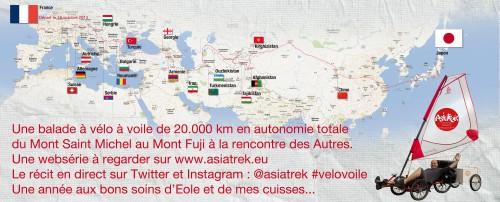 Asiatrek -->> Du Mont Saint Michel au Mont Fuji en Vélo à Voile 25793710