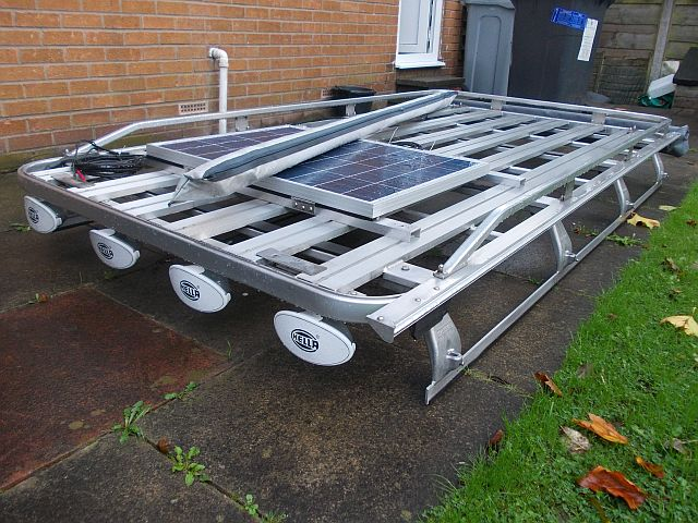 Hannibal 110 roof rack & Awnings Kevinh11