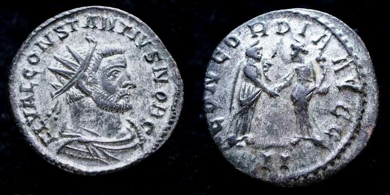 Aureliani de Lyon de Dioclétien et de ses corégents Consta10