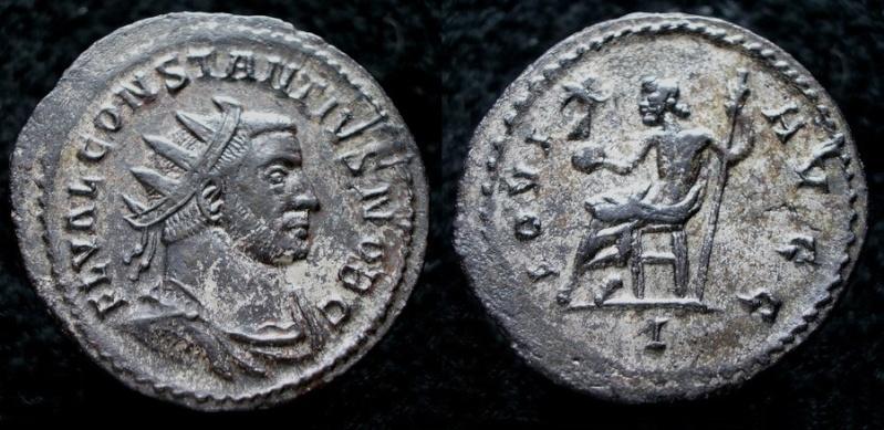 Aureliani de Lyon de Dioclétien et de ses corégents Consta12