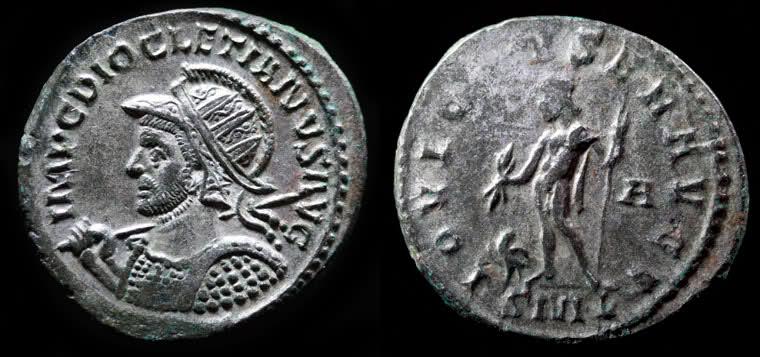 Aureliani de Lyon de Dioclétien et de ses corégents Diocla10