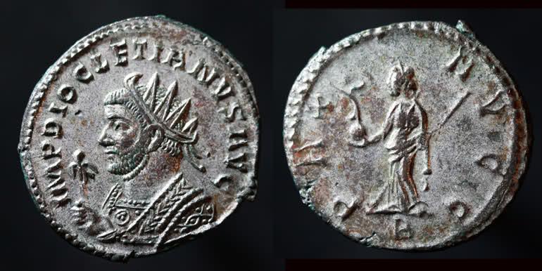 Aureliani de Lyon de Dioclétien et de ses corégents Diocle13