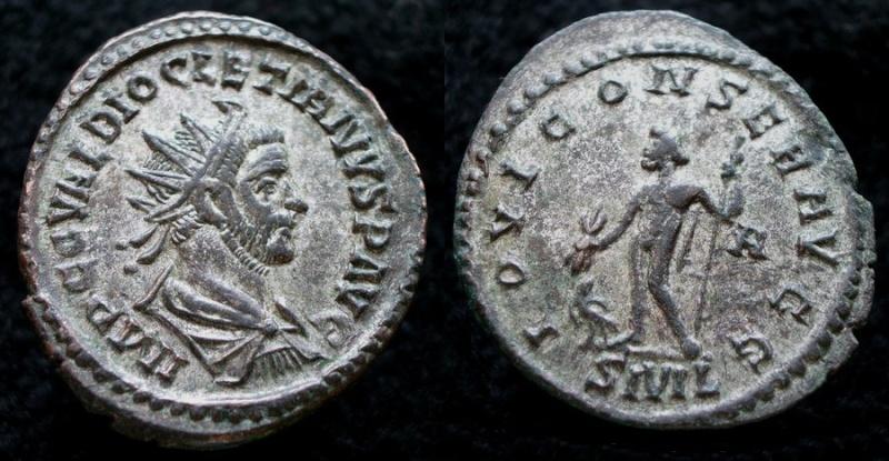 Aureliani de Lyon de Dioclétien et de ses corégents Diocle14