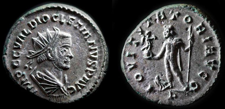 Aureliani de Lyon de Dioclétien et de ses corégents Diocle15