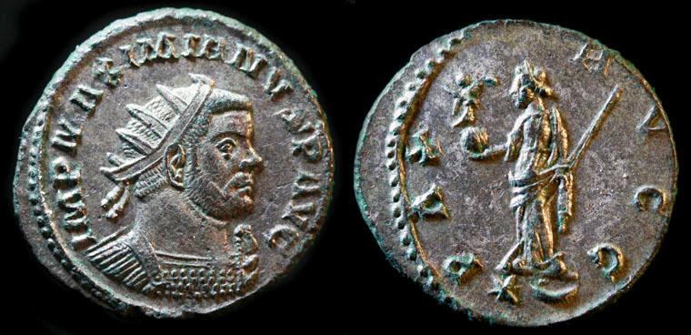 Aureliani de Lyon de Dioclétien et de ses corégents Maximi13