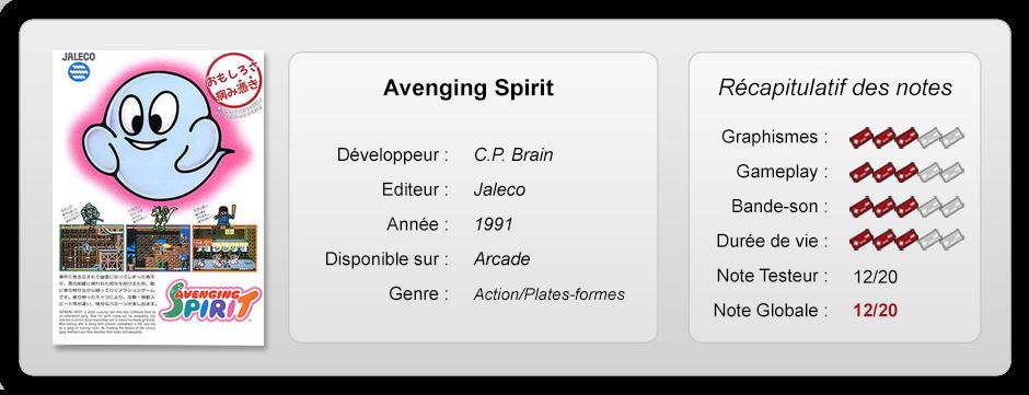 [TEST] Avenging Spirit (Arcade) Fiche-13