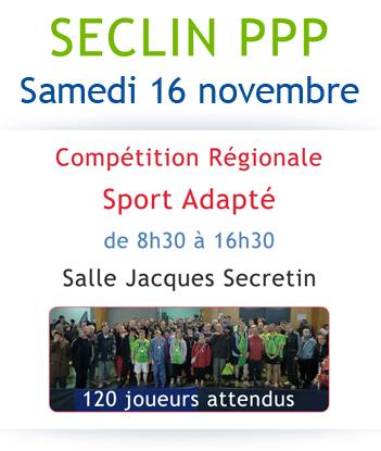 Tournoi régional Sport Adapté le samedi 16 novembre à Seclin Affich10