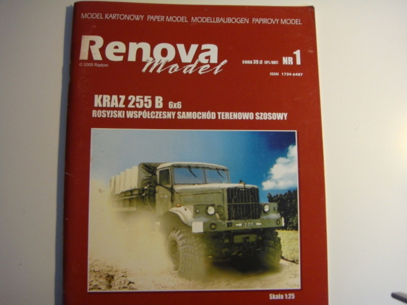 Renova model – Kraz 255 B gebaut von Adrian Dsc05213